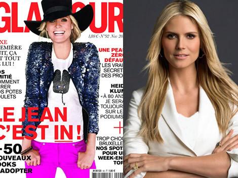 Régime de Star: Heidi Klum - Régime mannequin et Grossesse