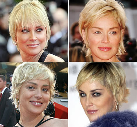 R gime de star le r gime anti ge de sharon stone for Coupe de cheveux sharone stone
